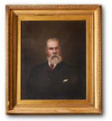 ENGLISH SCHOOL (LATE 19TH CENTURY) AND LATER JAMES PERKINS, PORTRAIT OF A GENTLEMAN