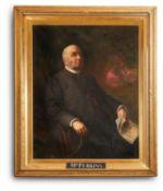 ENGLISH SCHOOL (19TH CENTURY), PORTRAIT OF A GENTLEMAN, SEATED, THREE QUARTER LENGTH