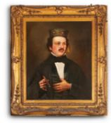 ENGLISH SCHOOL (19TH CENTURY) AND LATER JAMES PERKINS, PORTRAIT OF A GENTLEMAN