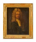 ENGLISH SCHOOL (17TH CENTURY), PORTRAIT OF A GENTLEMAN, BUST LENGTH, IN A FEIGNED OVAL