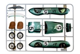 A 1:2 SCALE ASTON MARTIN DBR1 'AIRFIX' TRIBUTE KIT BY ANT ANSTEAD (B. 1979) AND EVANTA MOTOR COMPAN