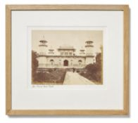 A COMPOSED SET OF SIXTEEN COMMERCIAL PHOTOGRAPHS OF NORTH INDIA, SECOND HALF 19TH CENTURY