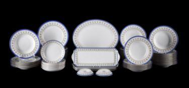 A modern composite Haviland Limoges 'Val de Loire' pattern part dinner/breakfast service