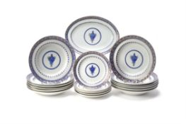 A Chinese Export part dinner service