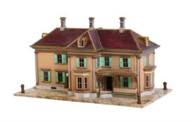 A model of a house