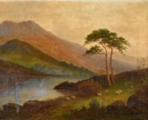 Circle of William Giles, Highland landscape