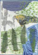 Frances Ryan, River Ferns 1, 2021