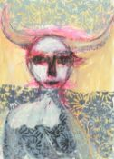 Rebecca Swainston, I Awoke with Horns, 2021