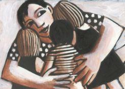 Anita Klein, Hugging the Children, 2020