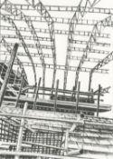 Anne Desmet RA, Building Site 3, 2021