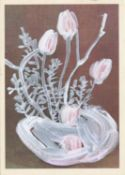 Kavel Rafferty, White Tulip Display, 2021