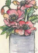 Vicky Oldfield, Peonies in a Tin, 2020