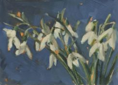 Anne-Marie Butlin, Signs of Spring II (Snowdrops), 2021