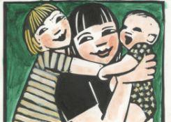 Anita Klein, Mother of Two, 2020