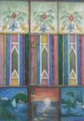 Janet Archer, Painted Door, Sana'a Yemen (1992), 2020