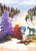 Freya Douglas-Morris, Lilac Tree, 2021