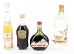 A Selection of European Spirits & Liqueurs from the Mid 20th Century