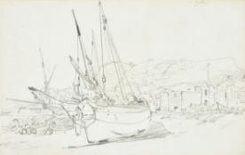 Attributed to William Roxby Beverley (British 1811-1889), Hastings Beach