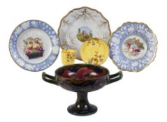 Porcelain to include a Flight Barr and Barr plate