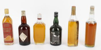 A Selection of Scotch Whisky from the Mid 20th Century