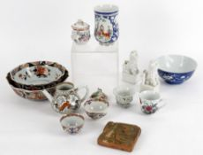 A selection of 18th and 19th century Chinese porcelain
