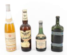 A Selection of European Spirits & Liqueurs from the Mid 20th Century12 bottles