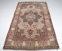 A Kirman rug