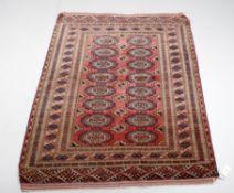 A Bokhara rug