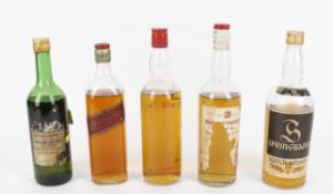 Mixed Case of Old Bourbon and Scotch Whisky