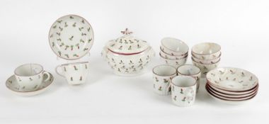 A selection of New Hall type porcelain