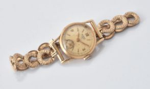 Norma, Gold coloured wrist watch