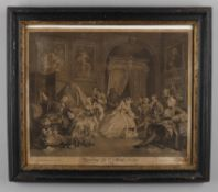 After William Hogarth (1697-1764) 'Marriage a la Mode'