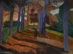 λ Earl Haig (British 1918-2009), Autumn Walk
