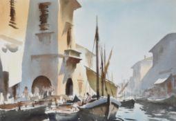 λ Edward Seago (British 1910-1974), Summer Morning, Chioggia