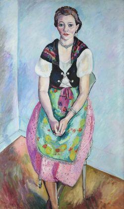 λ Edward Wolfe (British 1897-1981), Jet Fairley in Swiss Costume