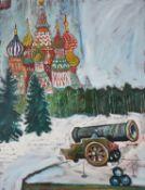 λ John Bratby (British 1928-1992), The Tsar's Cannon Balls