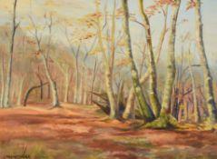 λ Lilian Hawthorn (British 1909-1996), Trees at Epping