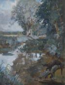 λ Lionel Dalhousie Robertson Edwards (British 1878-1966), Otters