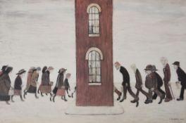 λ Laurence Stephen Lowry (British 1887-1976), Meeting Point