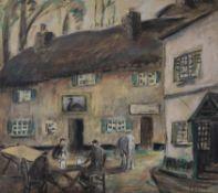 Henry William Phelan Gibb (British 1870-1948), Outside the Inn