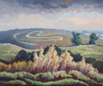λ Walter Steggles (British 1908-1997), Dorset Landscape