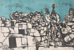 λ Julian Trevelyan (British 1910-1988), Troubadours at Les Beaux