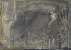 λ Ciarán Clear (Irish 1920-2000), Untitled (solo figure)