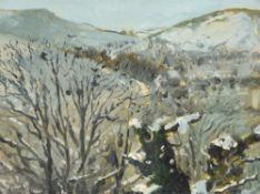 λ Paul Lucien Maze (French 1887-1979)Snowy Landscape, Compton Downs