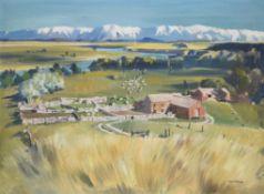 Peter McIntyre (New Zealander 1910-1995), A central Otago sheep station