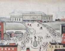 λ L.S. Lowry (British 1887–1976), Station Approach, £1,500 - 2,500