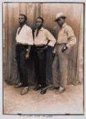 Seydou Keïta (Malian 1923-2001)Three Young Men from Mali, c.1954