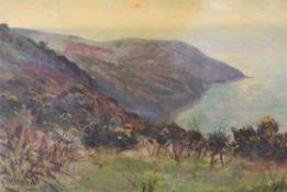 Henry William Phelan Gibb (British 1870-1948), Coastal landscape study