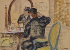 λ Paul Lucien Maze (1887-1979), Dressing for the Hunt