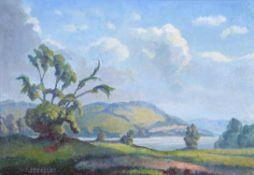 λ Walter Steggles (British 1908-1997), Wye Valley near Hereford